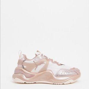 Puma Sneakers in Rose Gold